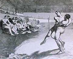 греко-римская борьба